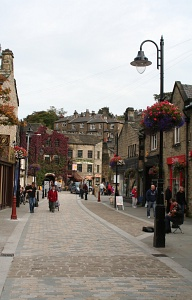 Anglia: centrum Hebden Bridge