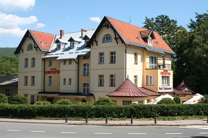 The Izera Mountains: Swieradow-Zdroj - small spa town located under northern slopes of the Polish part of the Izera Mountains