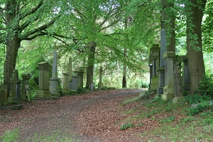 The Cathcart Cemetery in Glasgow.